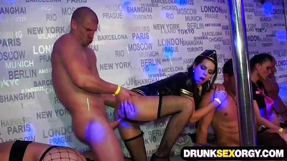 Drunk nasty party sluts speaking, opinion
