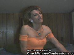 Crack whore ? fucked.