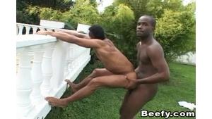 Beefy studs ass ramming