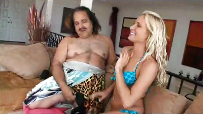 Ron Jeremy pumps blonde Jessica Valentino