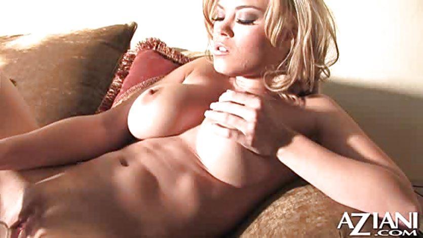 Busty Blonde Glamour Babe Brea Lynn Dildoing Fuq Com 1
