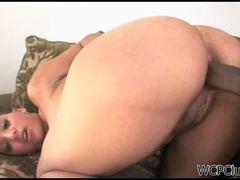 Candy's anal enjoyment
