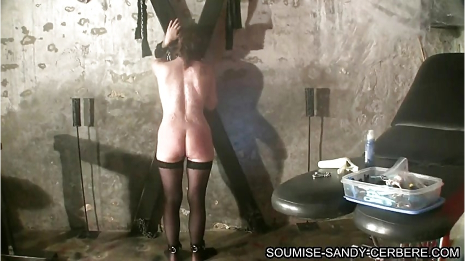Mature tied and fucked