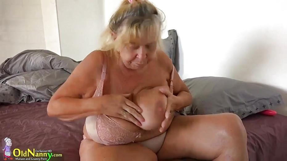 fat granny big tits porno