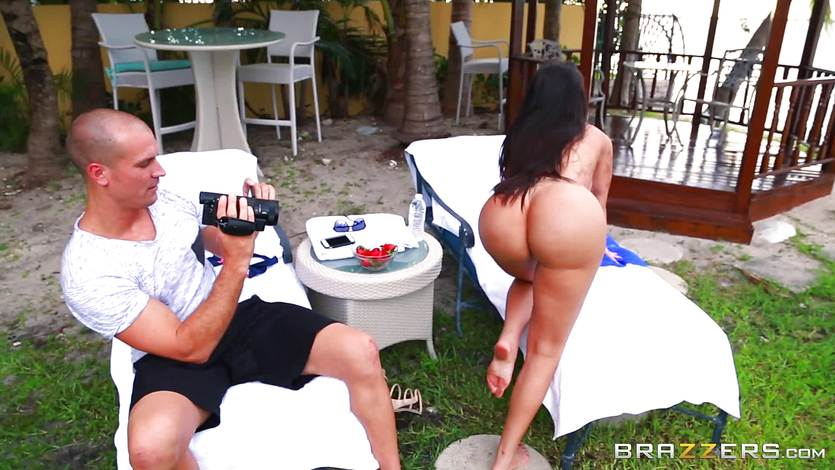 Sasha Grey Brunette Pornstar
