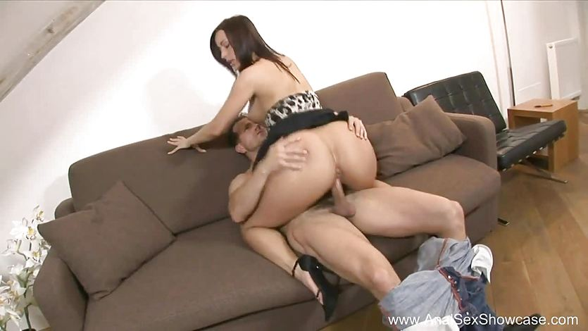 Luscious milf loves cock up her ass