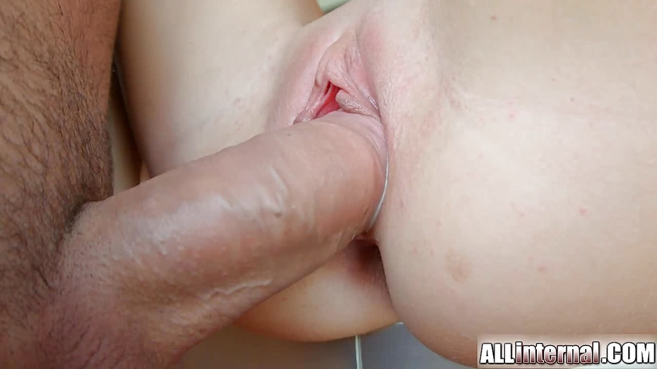 Blue Haired Dick Filling Her First Vagina Completely 1