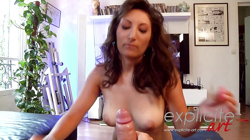 Sex line busty french girl is casted love