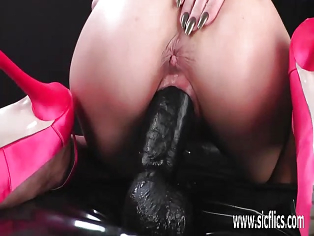 Massive dildo and fist entry for hot girls