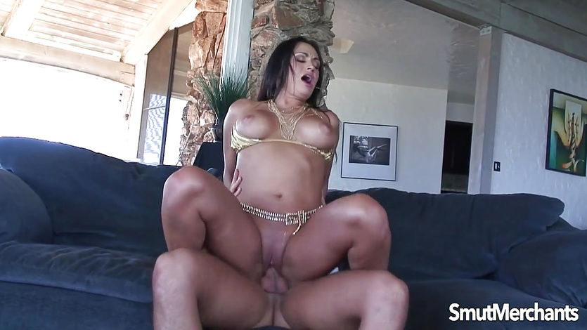 Huge cock slamming into Hot MILF