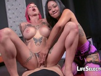 Horny Anna Bell Peaks and Saya Song Enjoy Being have sex massive Anna Bell Peaks | Porn-Update.com