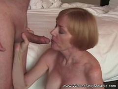 Mommy Gives an Awesome Blowjob