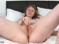 Redhead amateur masturbating   Porn-Update.com