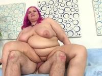 Fat Plumper Slams Her cunt Down on a cock Ex Girlfriend | Porn-Update.com