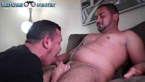 Blowing Off A Honduran Straight Cock