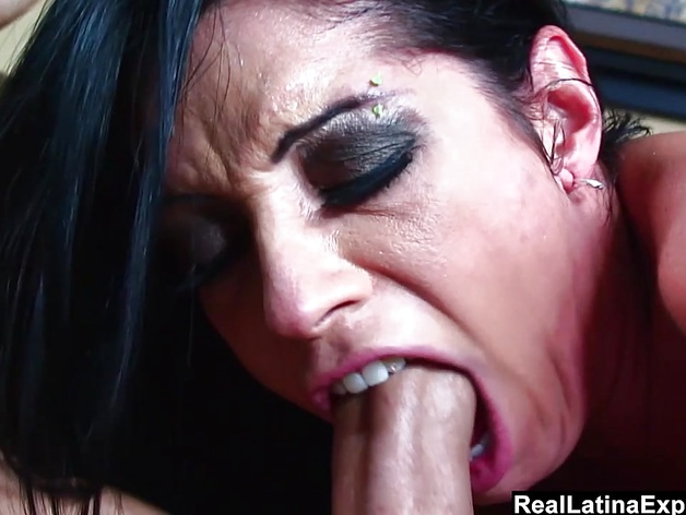 Brazilian Monica Santhiago Gets Face and ass fucked