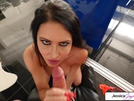 Jessica jaymes cock sucking a large cock | Big Boobs Update