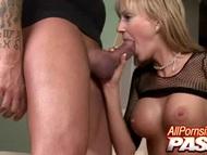 Busty blonde make love and sucks | Big Boobs Update