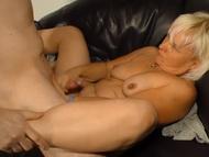 Xxx omas  libidinous blonde granny make love deep from behind | Big Boobs Update