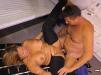 HAUSFRAU FICKEN  German MILF have sexual intercourse in basement Ex Girlfriend | Porn-Update.com