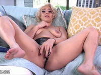 Horny Maria Jade using a purple toy on her clit Ex Girlfriend | Porn-Update.com
