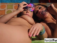 Busty Babe Kendall fucks super hot busty Natasha pleasant Natasha pleasantKendall Karson | Porn-Update.com