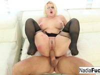 Blonde stunner Nadia gets have intercourse by Ramon Nomar Nadia White   Porn-Update.com