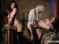 Kinky Ella and Olive fantasy have intercourse with monster dick Ella HughesOlive GlassDanny D | Porn-Update.com