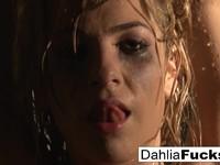 Wet Dahlia s naughty shower fun Dahlia Sky   Porn-Update.com