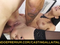 CASTING ALLA ITALIANA  Dirty newbie arse banging Omar Galanti | Porn-Update.com