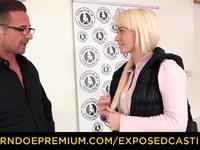 EXPOSED CASTING Spicy blondie analy drilled in audition David Perry | Porn-Update.com