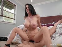 Mature MILF Reagan Foxx bent over and drilled doggystyle Charles DeraReagan Foxx | Porn-Update.com