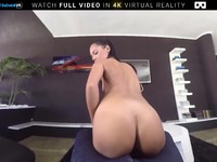 VR Porn Teen Strips down and Gets Assfucked On BaDoink VR Apolonia Lapiedra | Porn-Update.com
