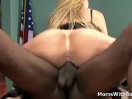 Mature boss sara jay interracial sex applicant have sex