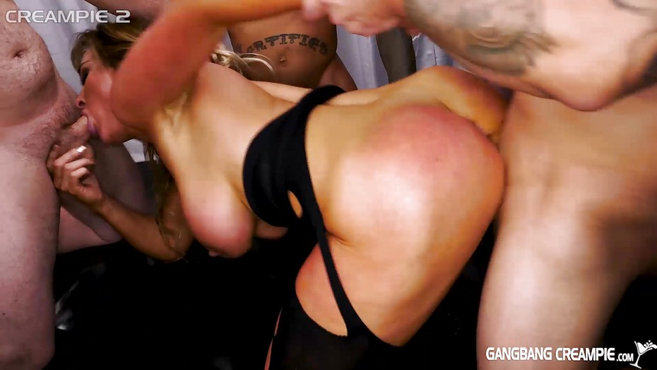 Riding Black Cock Creampie