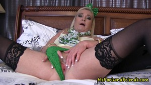 Hot St Patrick's Day Mommy/Son Taboo